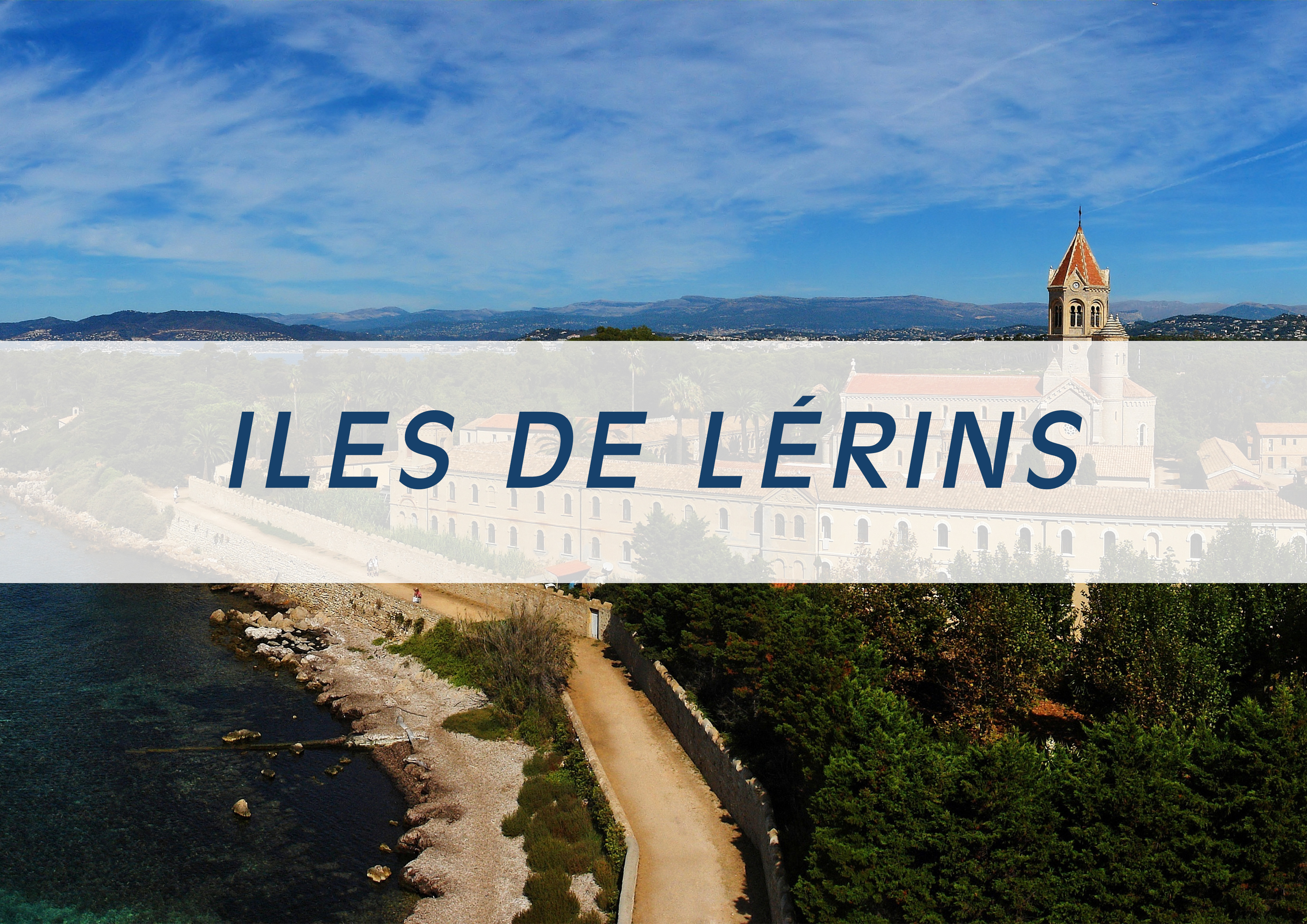 Overview of Lerins Island - Heli Land & Sea - Heli Air Monaco